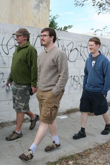 Mark, Andy, andLloyd