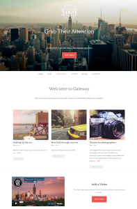 Gateway WordPress.com Theme