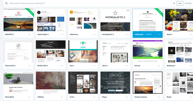 Choosing from the basic WordPress.com themes that are available for free can help you design the perfect website.
