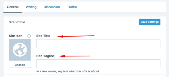 Changing your title and tagline for SEO
