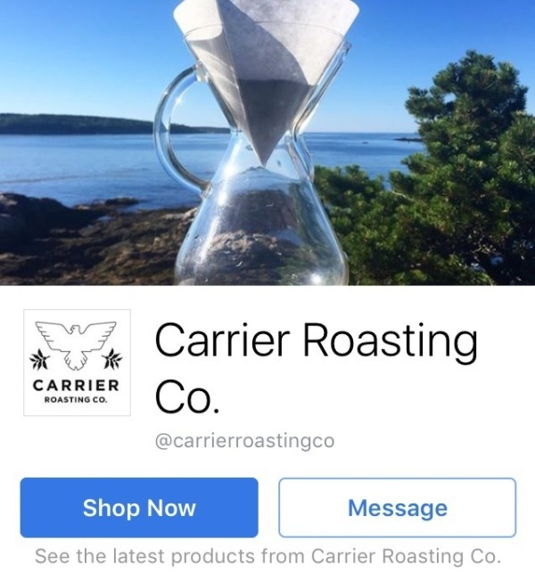 Carrier Roasting Co.'s Facebook cover photo