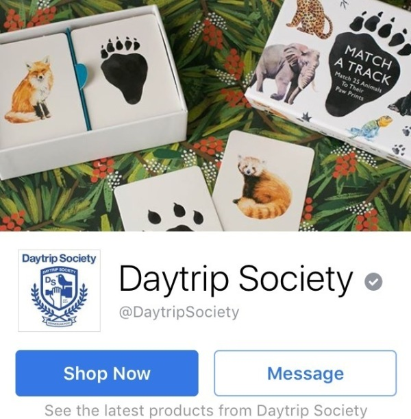 Daytrip Society's Facebook cover photo