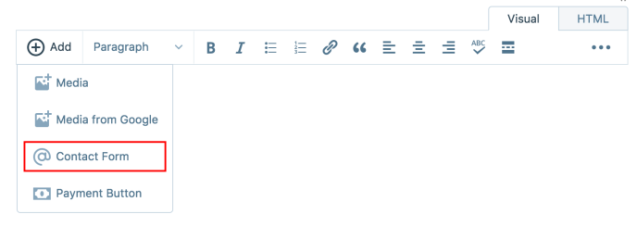 wordpress-contact-form