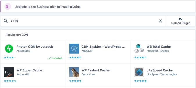 CDN plugins