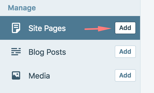 Add pages
