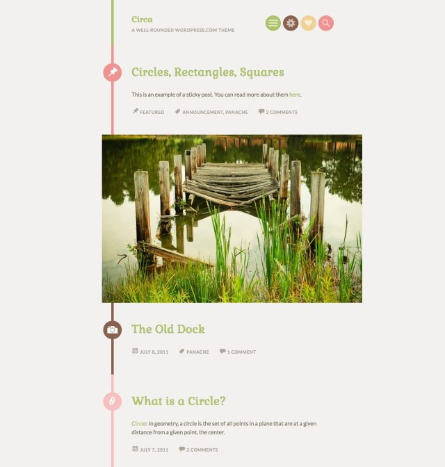 Circa WordPress.com theme