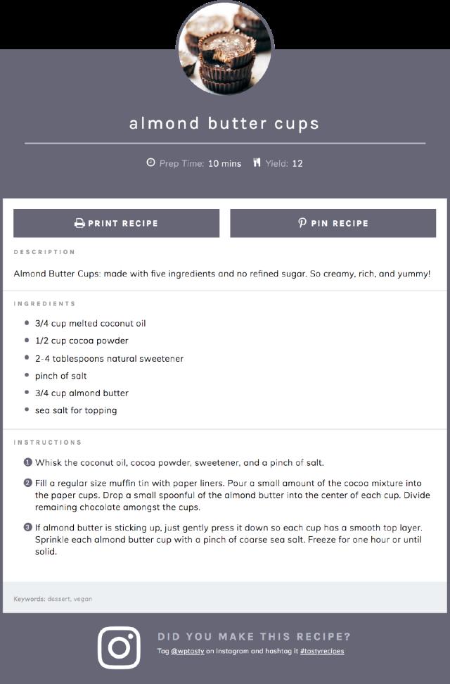 Tasty Recipes plugin screenshot
