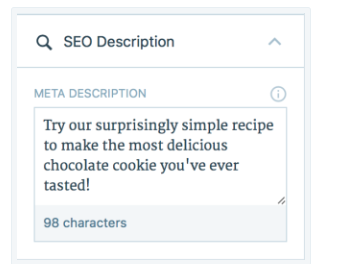 WordPress.com custom post meta description