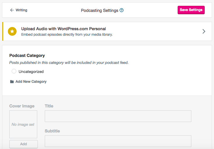 Podcast vs. blog - podcasting on wordpress.com
