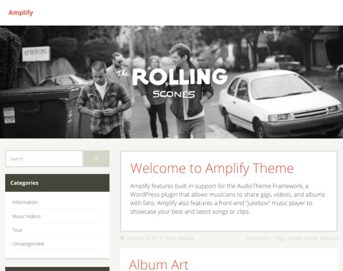 Amplify theme