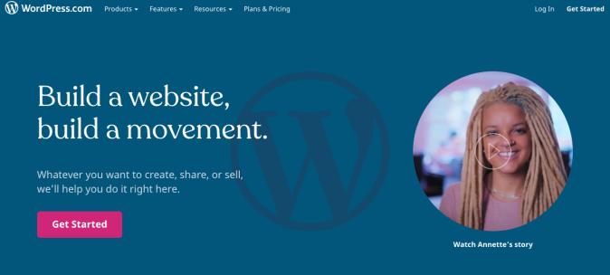 WordPress.com banner
