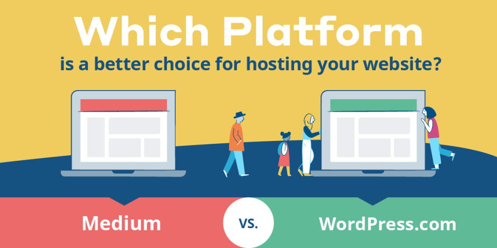 WordPress vs Medium [Infographic]