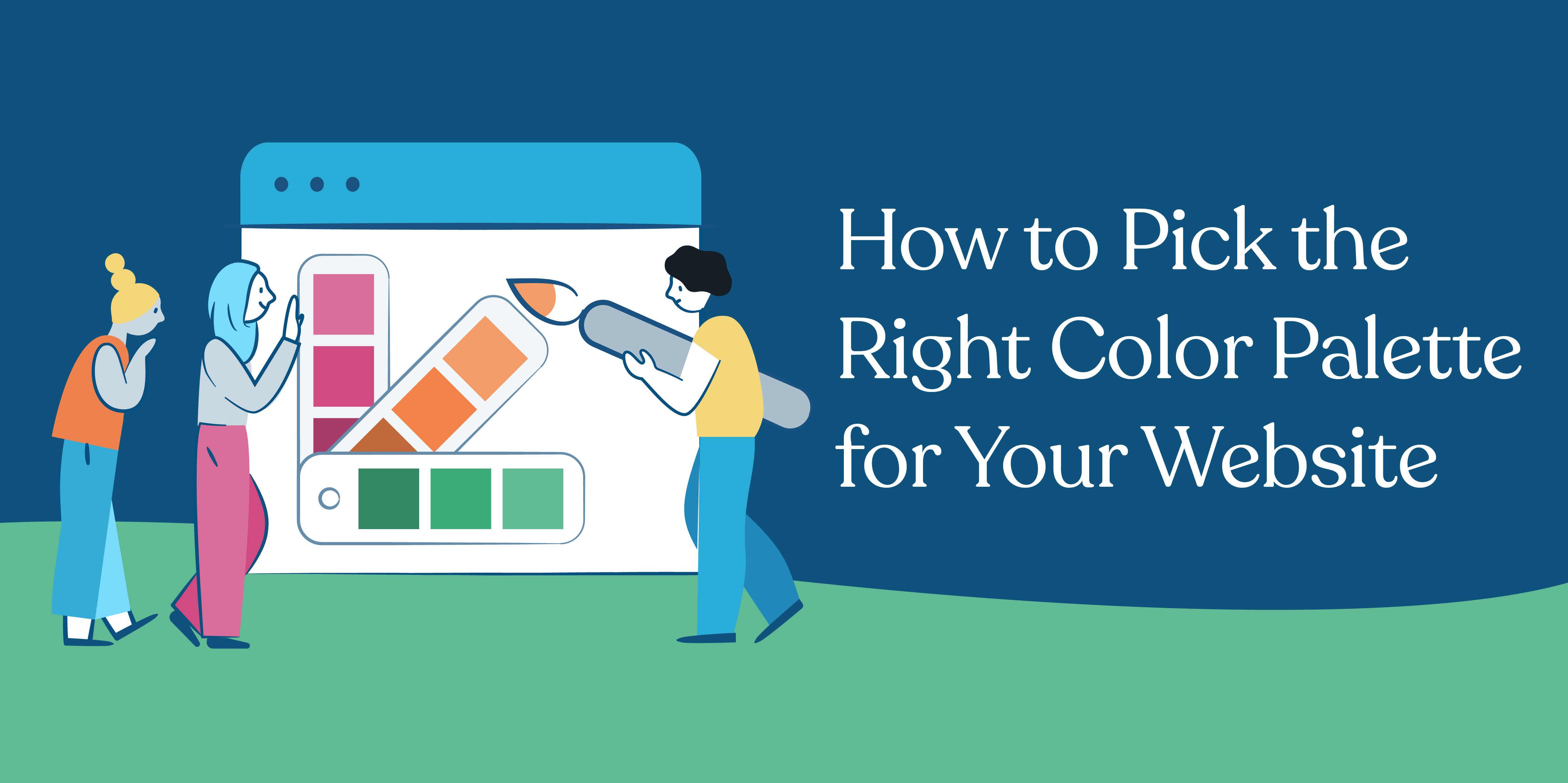Choosing Website Color Schemes Infographic Wordpress Com