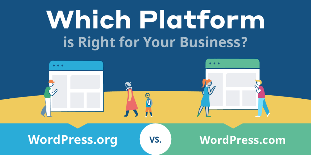 WordPress.com vs WordPress.org [Infographic]