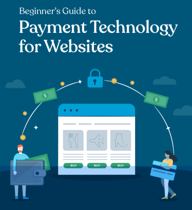 ebook cover - online payment technology for websites