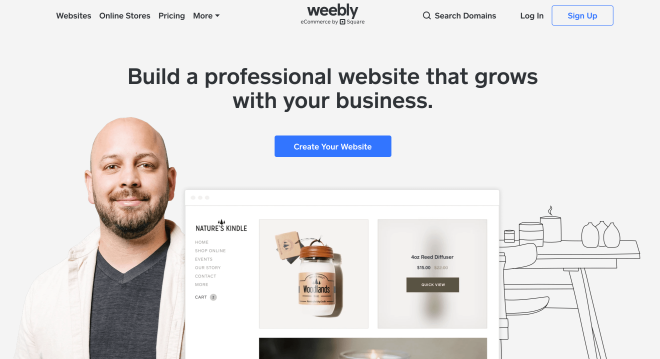 weebly option