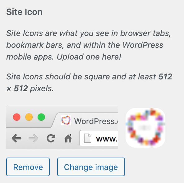 your new wordpress.com site icon